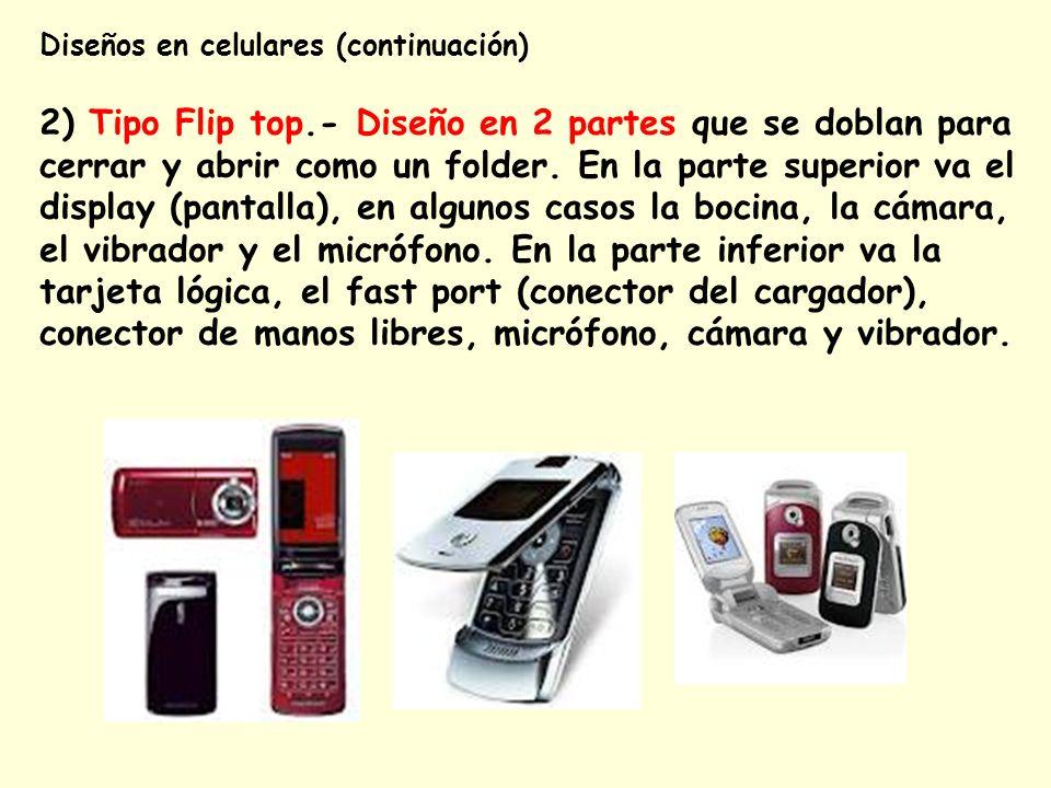 Diseños en celulares (continuación)