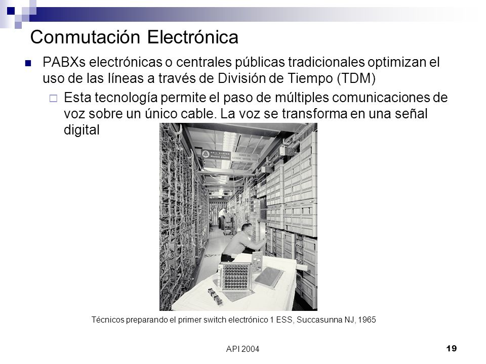 Conmutación Electrónica