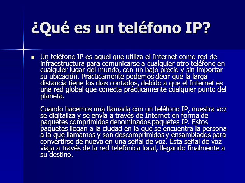¿Qué es un teléfono IP