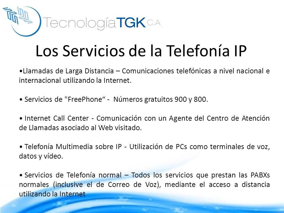 Los Servicios de la Telefonía IP