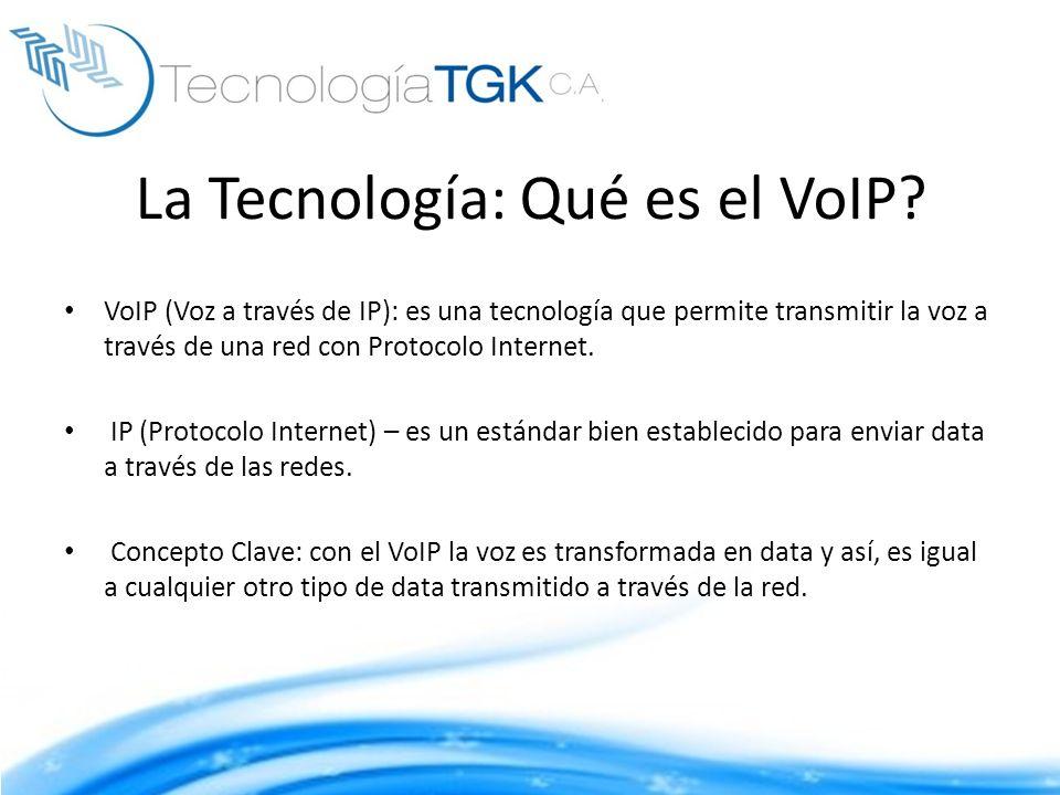La Tecnología: Qué es el VoIP