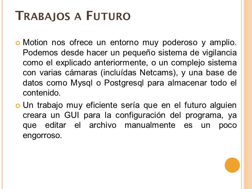 Trabajos a Futuro