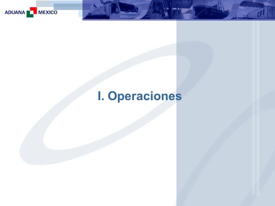 I. Operaciones