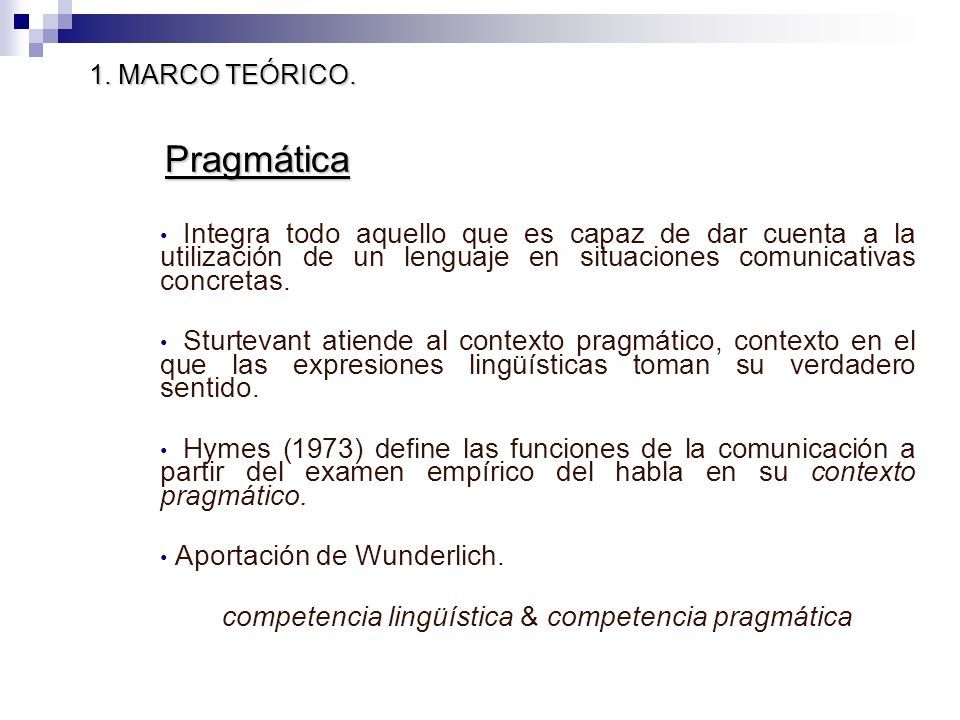 competencia lingüística & competencia pragmática