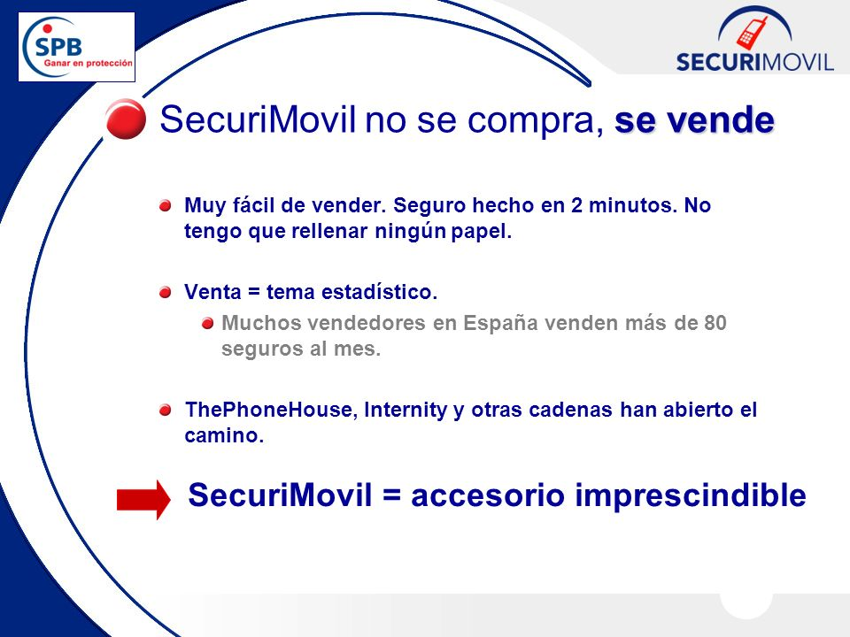 SecuriMovil no se compra, se vende
