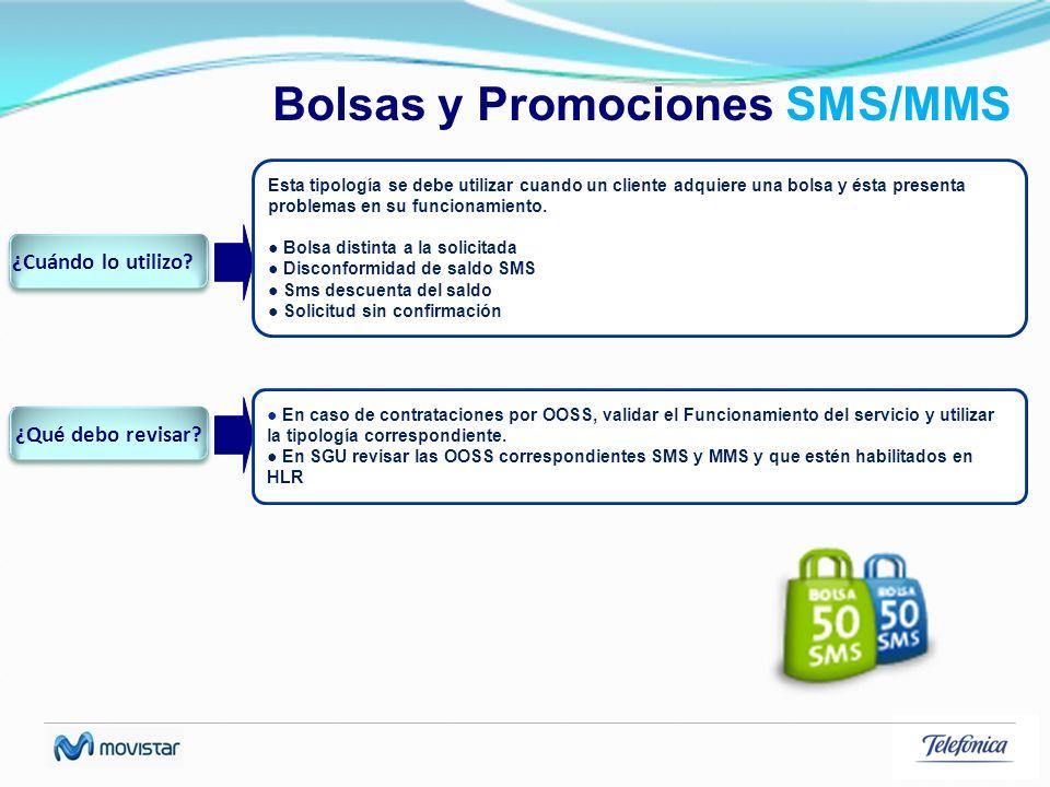 Bolsas y Promociones SMS/MMS