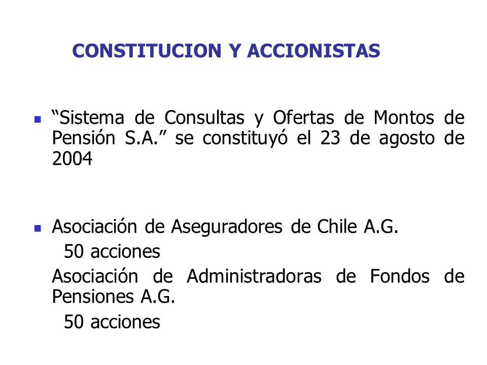 CONSTITUCION Y ACCIONISTAS