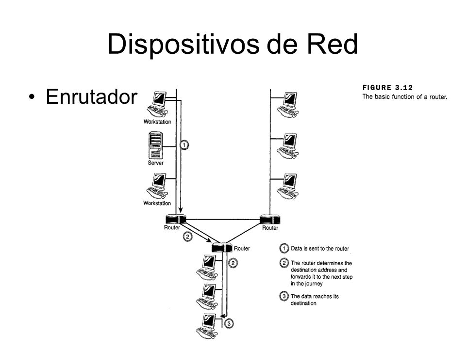 Dispositivos de Red Enrutador (Router)