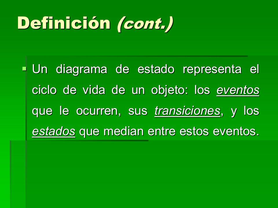 Definición (cont.)