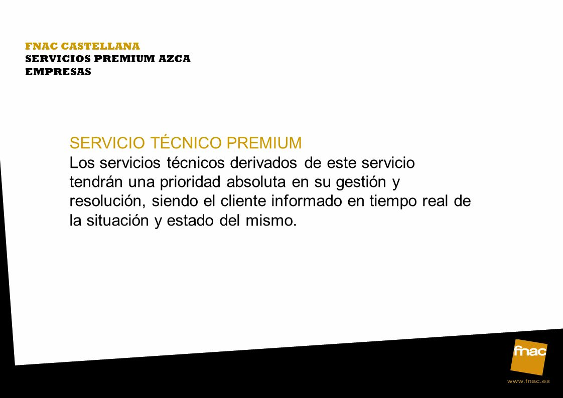 SERVICIO TÉCNICO PREMIUM