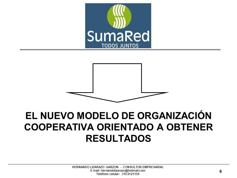 EL NUEVO MODELO DE ORGANIZACIÓN COOPERATIVA ORIENTADO A OBTENER RESULTADOS