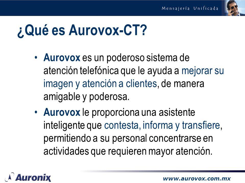 ¿Qué es Aurovox-CT
