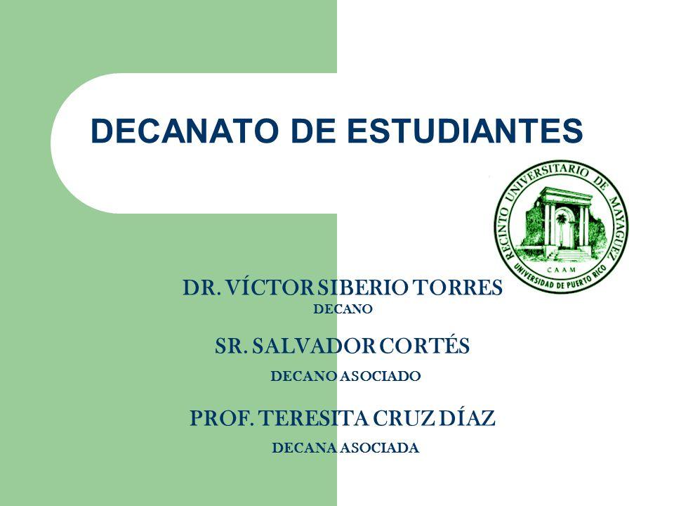 DECANATO DE ESTUDIANTES