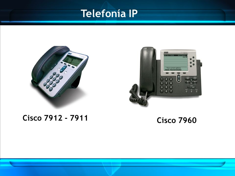 Telefonía IP Cisco 7912 - 7911 Cisco 7960