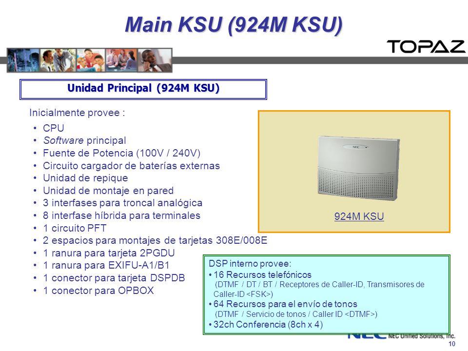 Unidad Principal (924M KSU)
