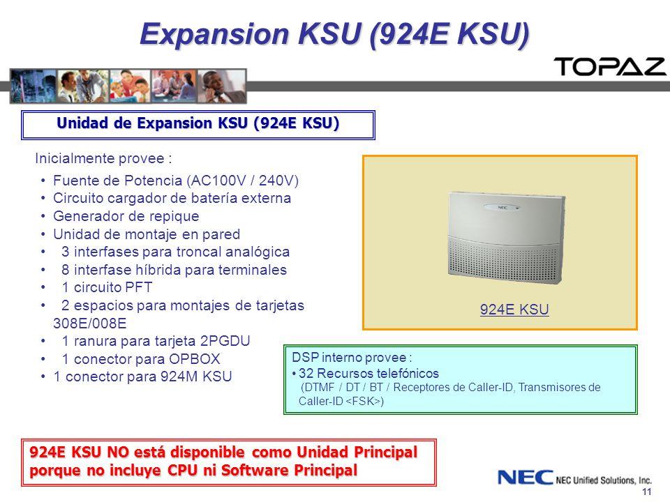 Unidad de Expansion KSU (924E KSU)