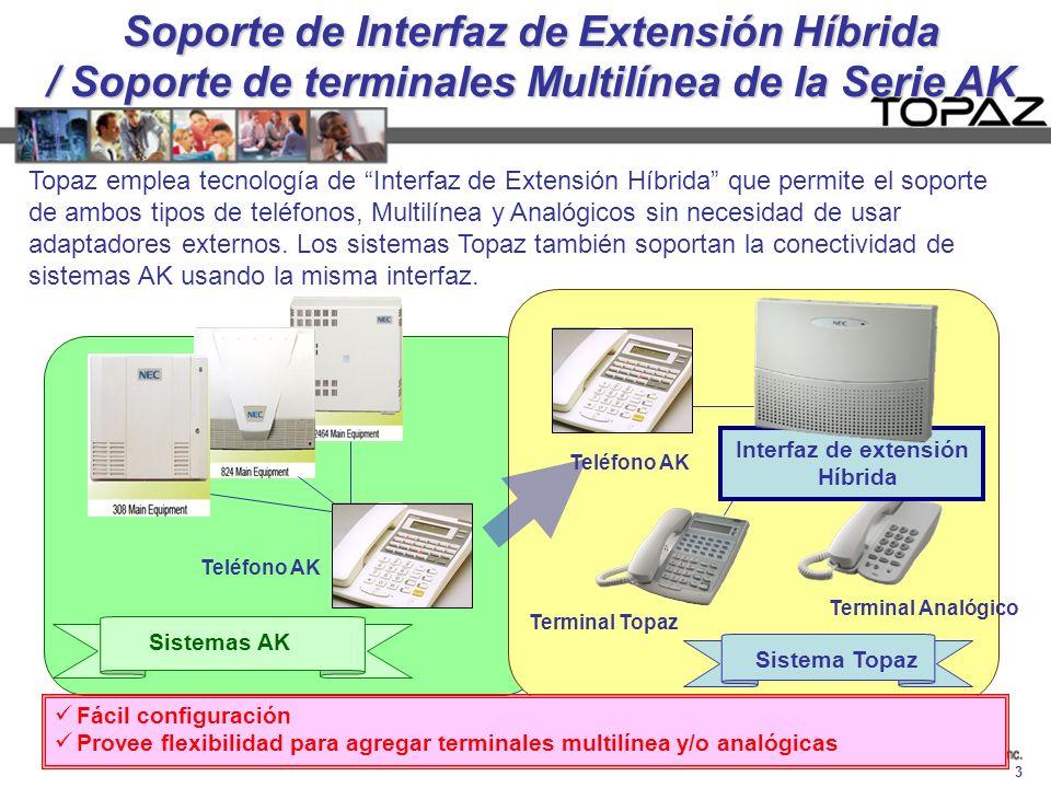 Interfaz de extensión Híbrida