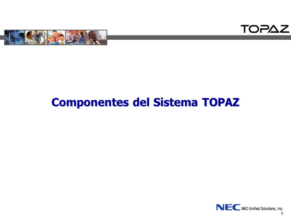 Componentes del Sistema TOPAZ