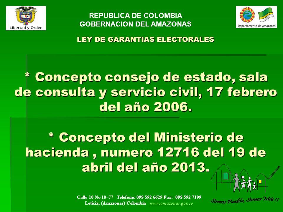 GOBERNACION DEL AMAZONAS