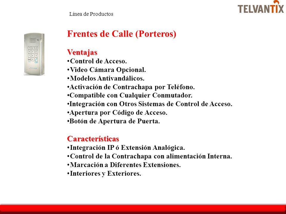 Frentes de Calle (Porteros)