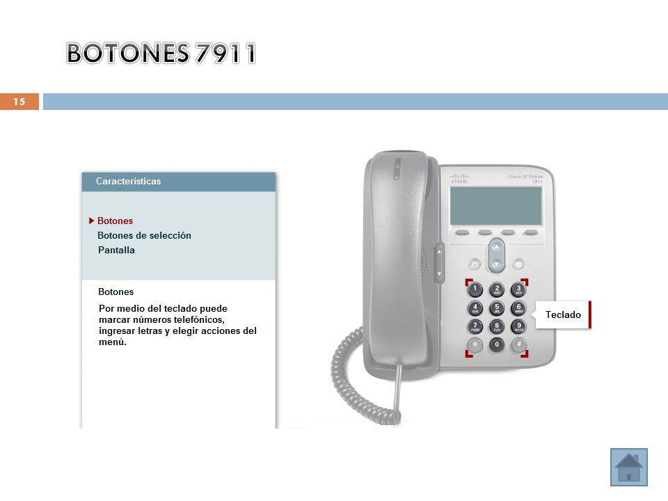 BOTONES 7911