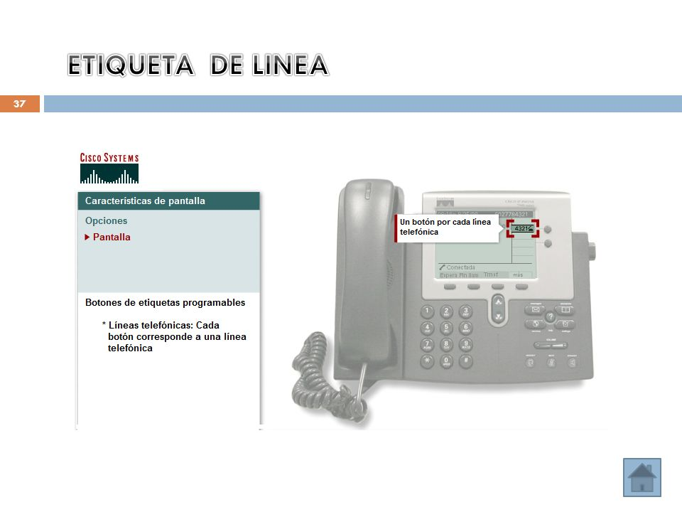 ETIQUETA DE LINEA