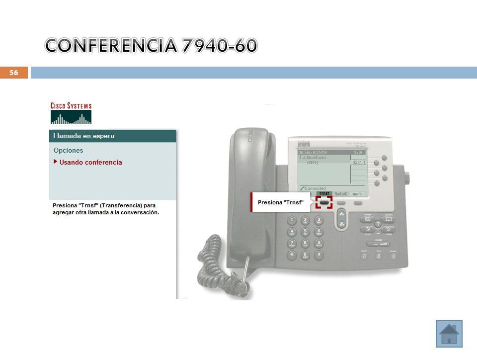 CONFERENCIA 7940-60