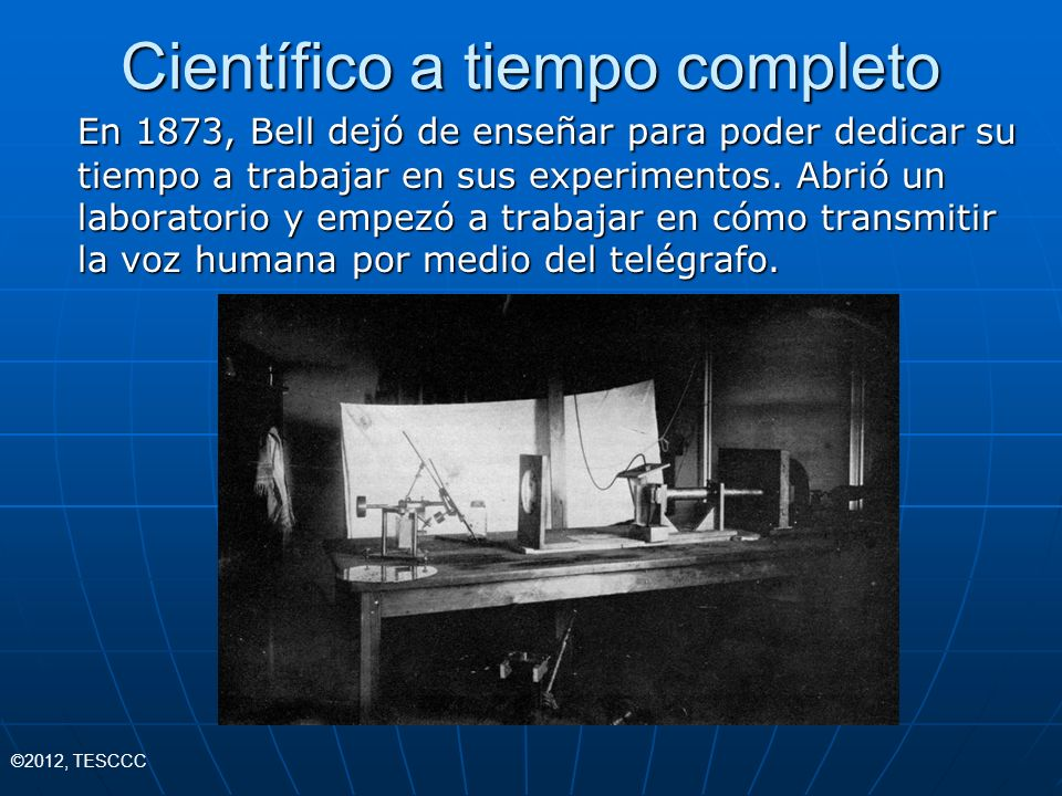 Científico a tiempo completo