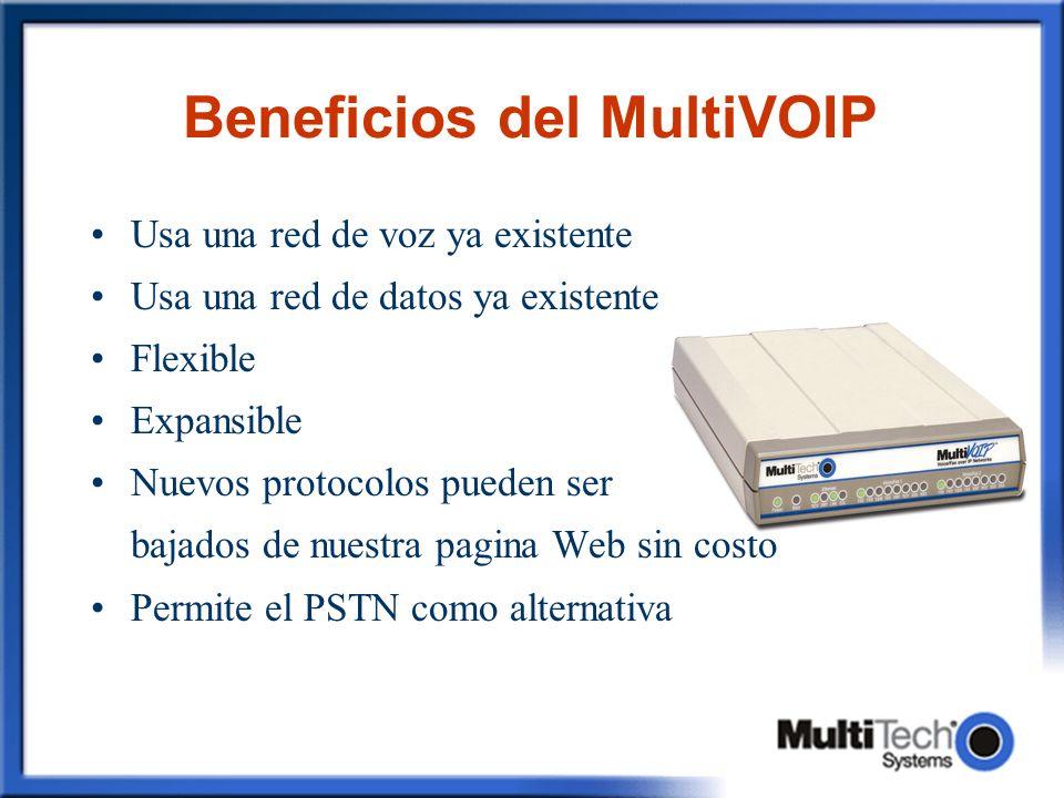Beneficios del MultiVOIP