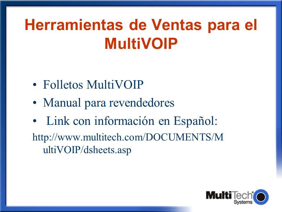 Herramientas de Ventas para el MultiVOIP