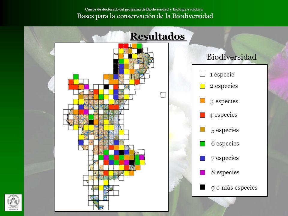 Resultados Biodiversidad