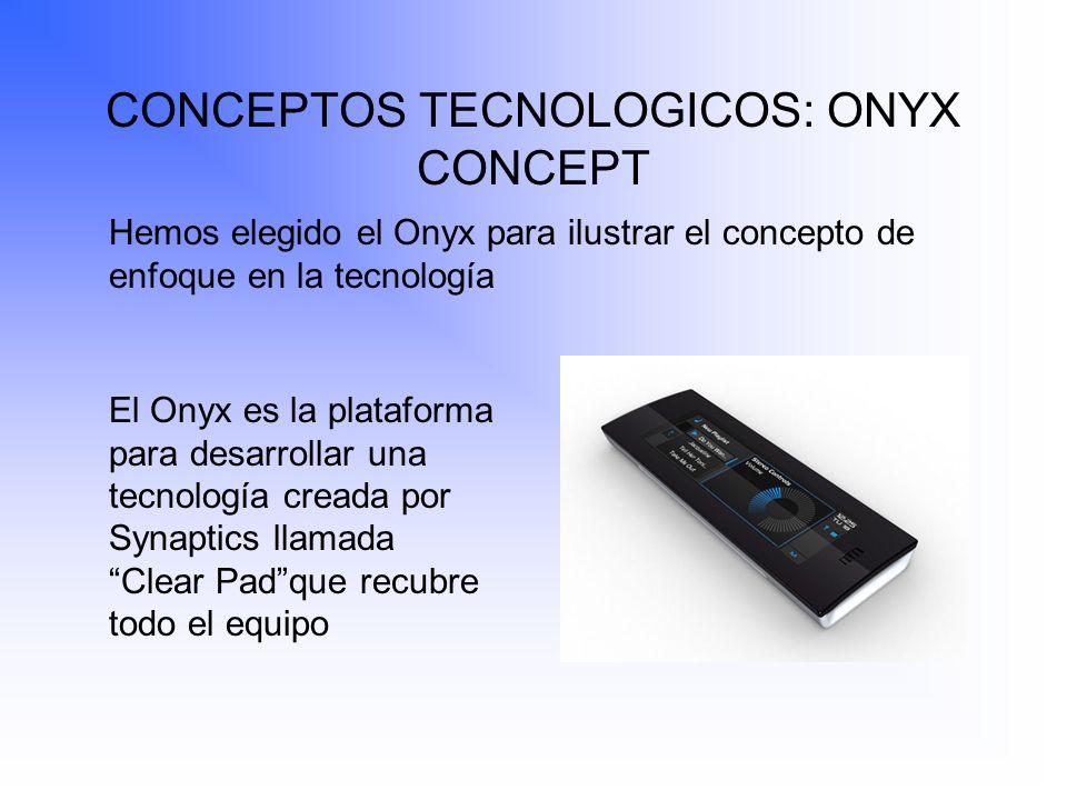 CONCEPTOS TECNOLOGICOS: ONYX CONCEPT