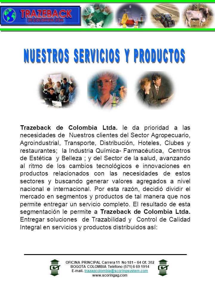 NUESTROS SERVICIOS Y PRODUCTOS
