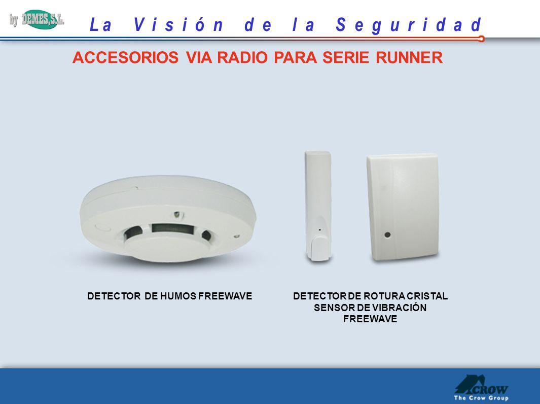 ACCESORIOS VIA RADIO PARA SERIE RUNNER