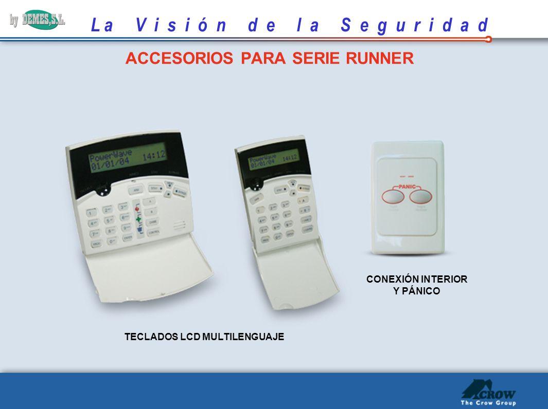 ACCESORIOS PARA SERIE RUNNER