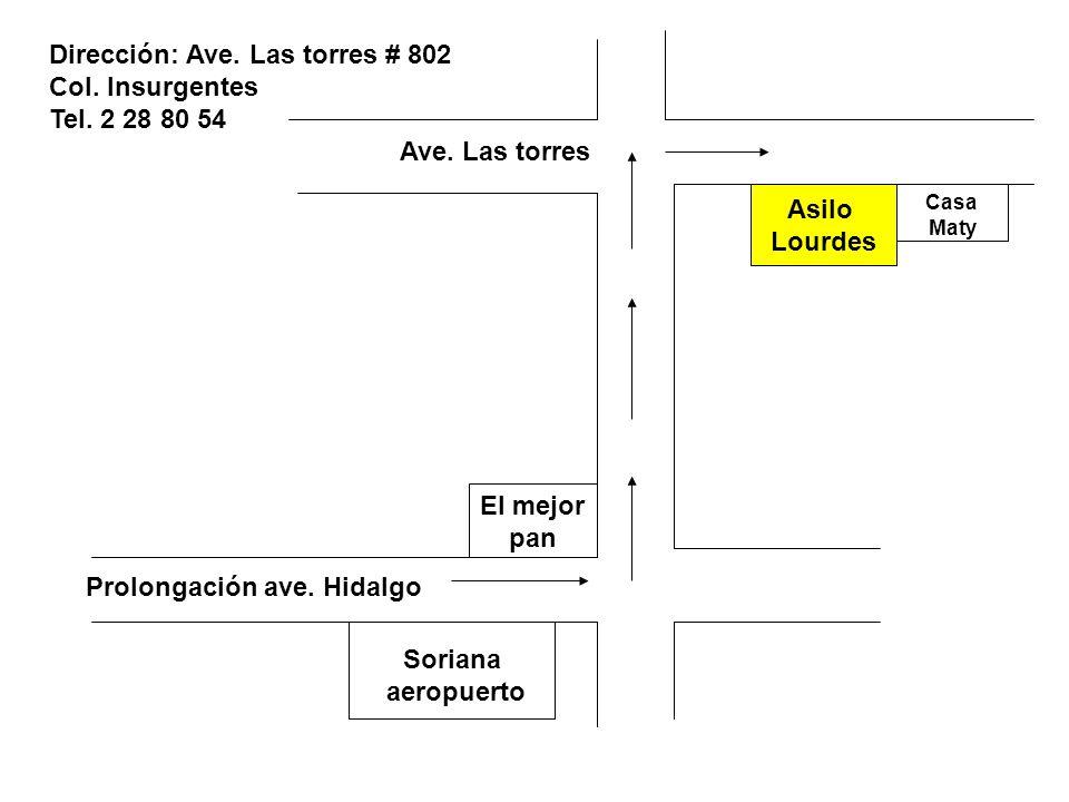 Soriana aeropuerto El mejor pan Asilo Lourdes