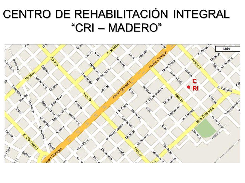 CENTRO DE REHABILITACIÓN INTEGRAL