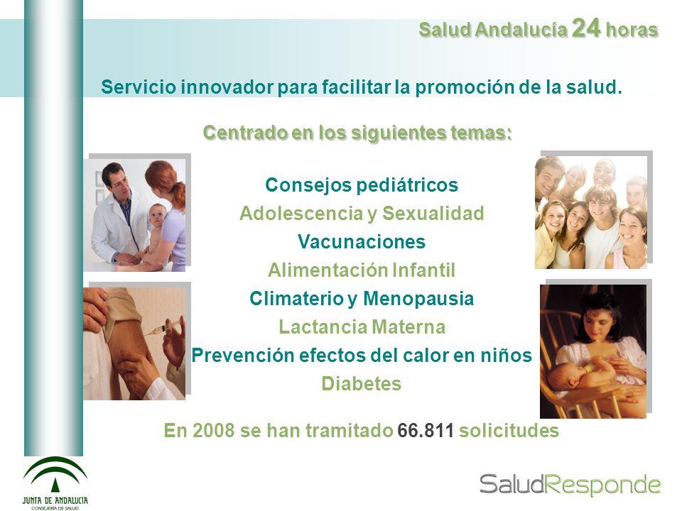 Servicio innovador para facilitar la promoción de la salud.
