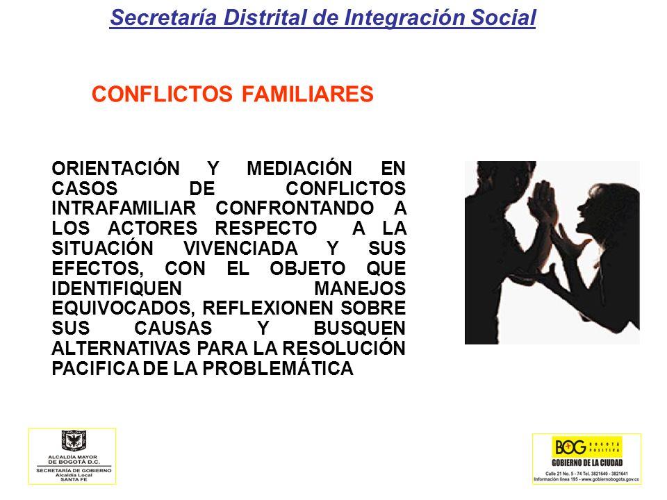 CONFLICTOS FAMILIARES