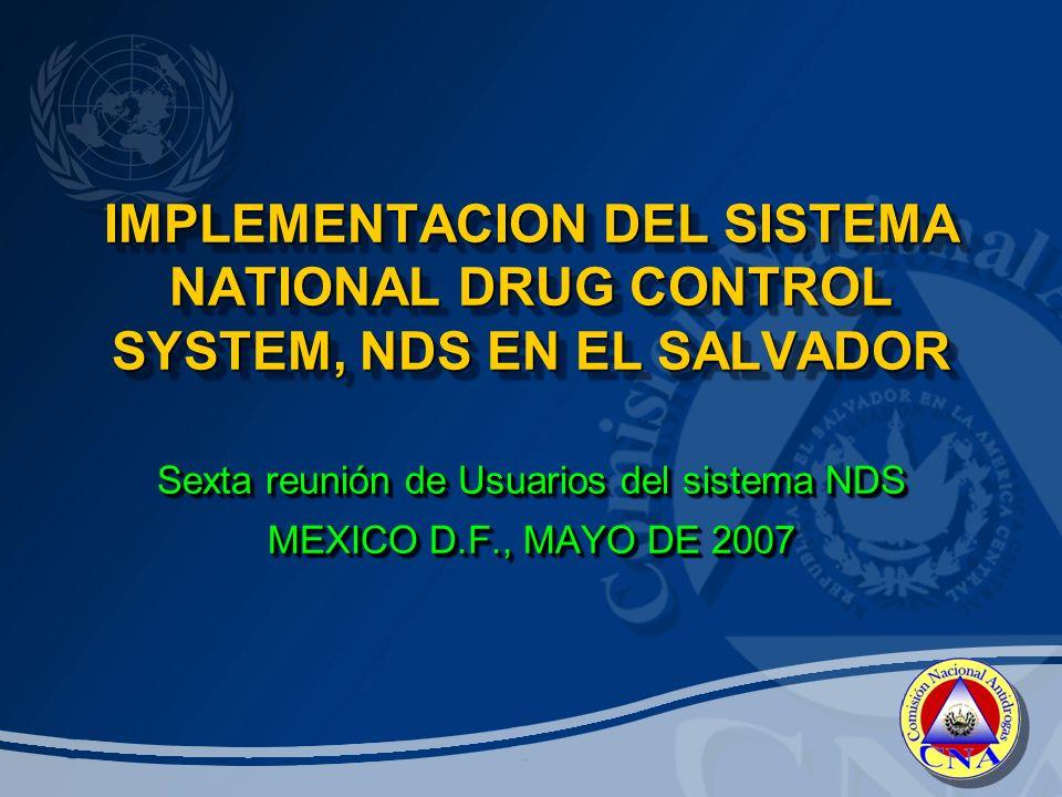 Sexta reunión de Usuarios del sistema NDS MEXICO D.F., MAYO DE 2007