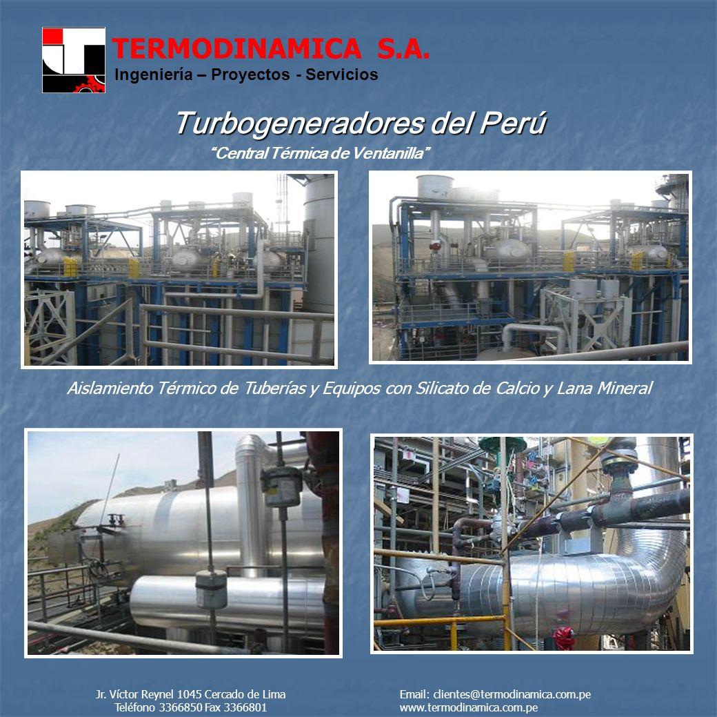 Turbogeneradores del Perú