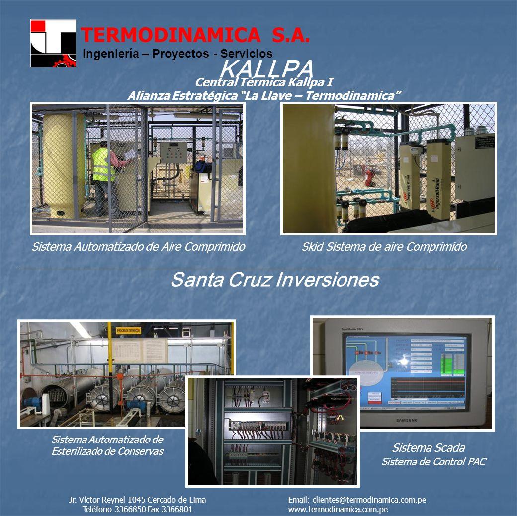 KALLPA Santa Cruz Inversiones Central Térmica Kallpa I