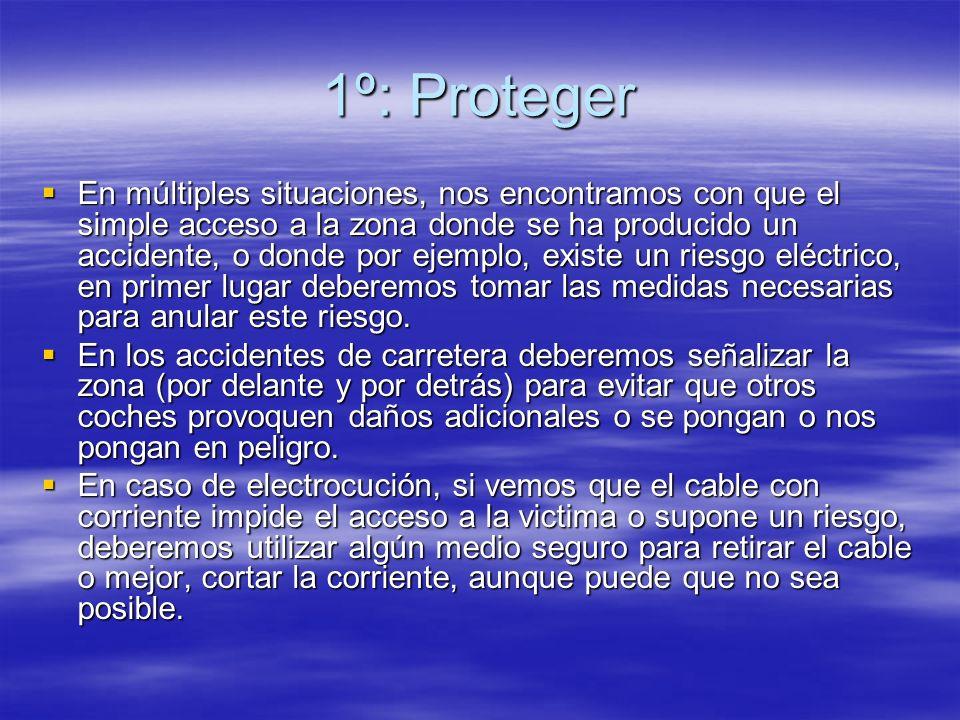 1º: Proteger