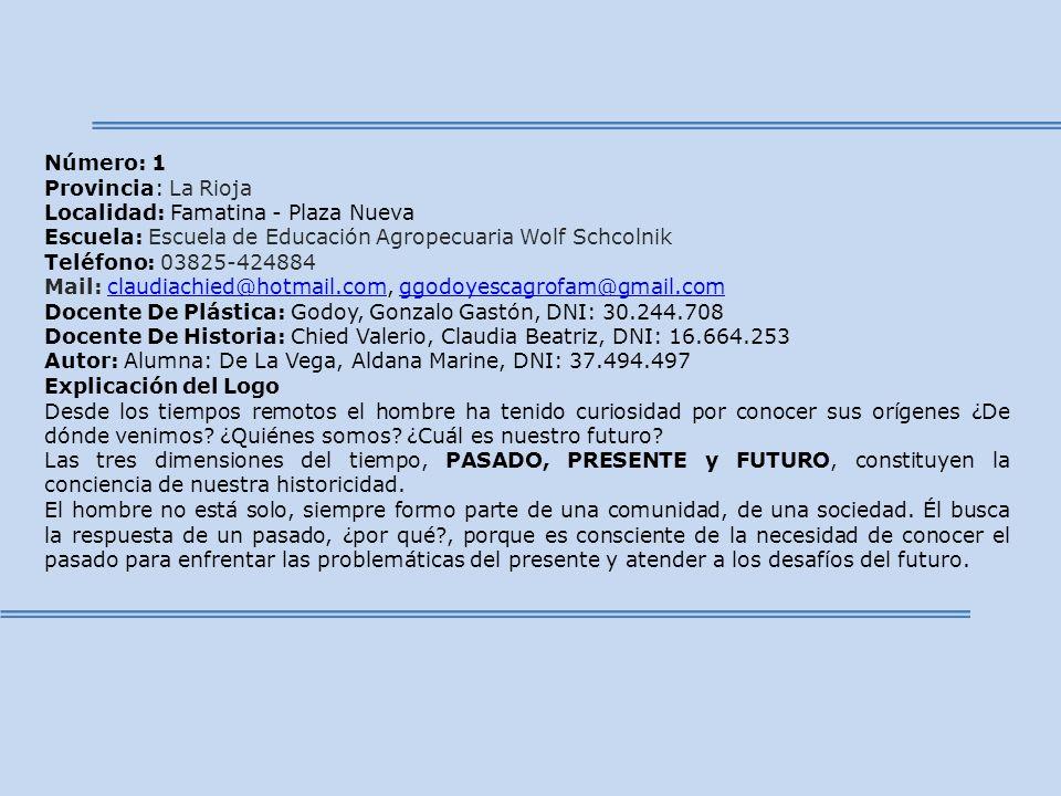 Localidad: Famatina - Plaza Nueva