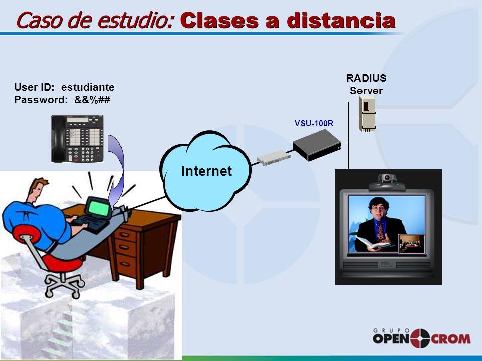 Caso de estudio: Clases a distancia
