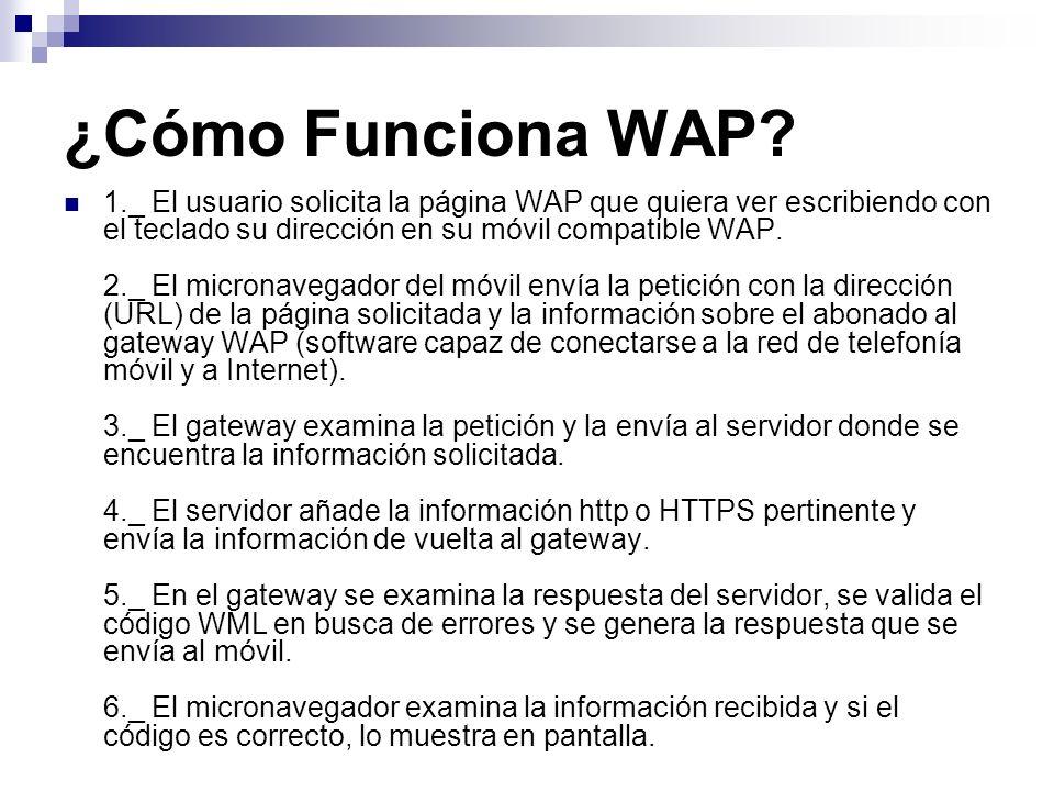 ¿Cómo Funciona WAP