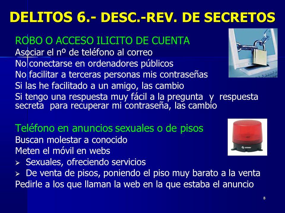DELITOS 6.- DESC.-REV. DE SECRETOS