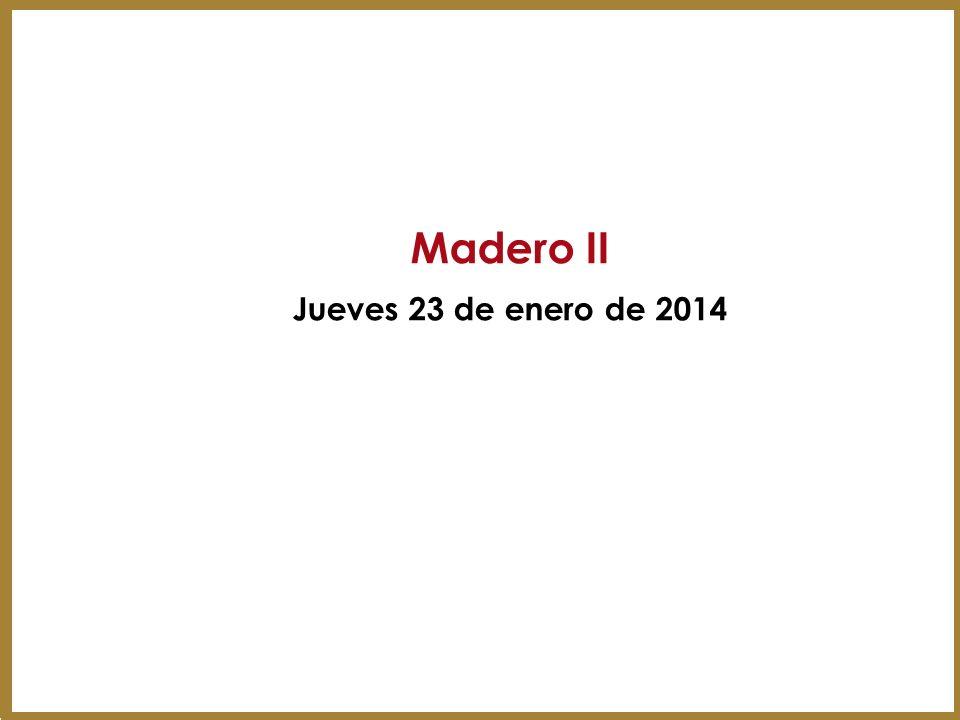Madero II Jueves 23 de enero de 2014 29