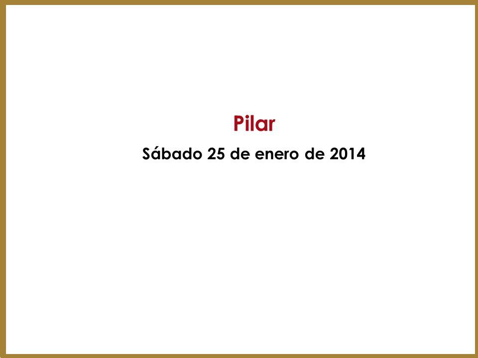 Pilar Sábado 25 de enero de 2014 46