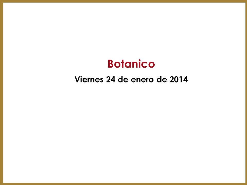 Botanico Viernes 24 de enero de 2014 9